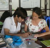 Besuch in Myanmar 2019, Nanette Haubensak